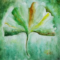 Ginkgo leaf / Ginkgoblatt von Katia Boitsova-Hošek