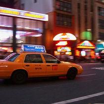 NYC Cab von Sebastian Luedke