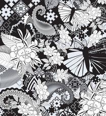 Butterflies And Paisleys von Eleanor-Jayne Browne