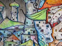 Schillernde Dächer einer verschwundenen Welt von friedrich stumpfi