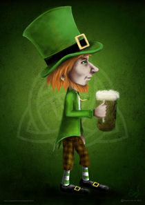 St Patrick Boy by Sophie ferrier