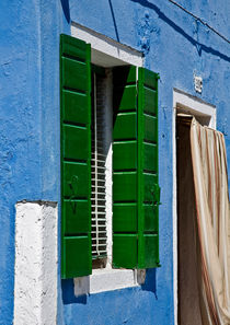Green Shutters by Graham Prentice