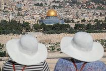 Tourists - Jerusalem by ANNA CAMORALI