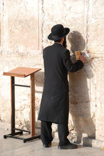 Rabbin - Jerusalem von ANNA CAMORALI