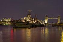 HMS Belfast von Alice Gosling