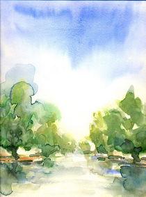 watercolor beauty von Georgi Koncaliev