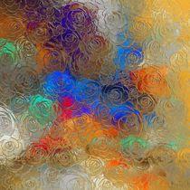 abstract flowers von Georgi Koncaliev