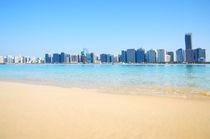 Abu Dhabi panorama, UAE von Tanja Krstevska