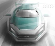 Audi Sketch von Valery Golubev