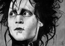 Edward Scissorhands by Fruzsina Nagy