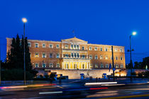 Athens, Greek Parliament Building by Graham Prentice