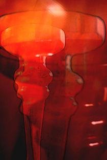 Rote Kelche. von Bernd Vagt