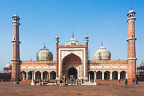 Jama Masjid Mosque, Old Delhi, India von Graham Prentice