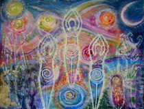 The sisterhood of the divine feminine by lilaviolet