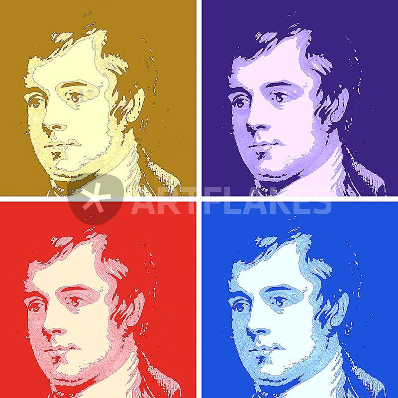 """Robert Burns"" Digital Art art prints and posters by Derek ..."