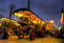 Showmans engine by night von Rob Hawkins