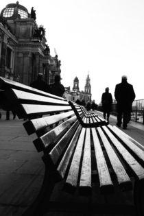 Dresden Schwarz Weiß Bild von Falko Follert