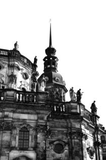 Dresden black and white - black and white photograph from the state capital of Saxony von Falko Follert