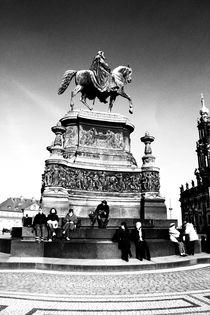 Dresden Schwarz Weiß Bild - Schwarz Weiß Fotografie von Falko Follert