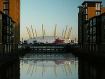 O2 arena reflections by David J French