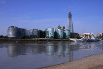 City Hall and the Shard von David J French