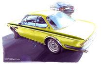 BMW 3.0 CSL & 7 Sereis F01 von polex