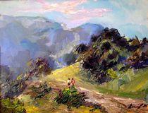 Laguna Canyon Road von Renuka Pillai