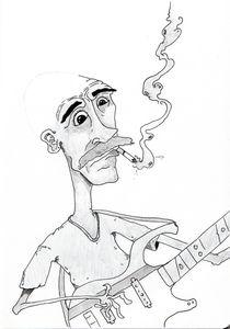 bassman by Aaron M. Johnson