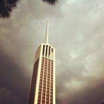 Stormy afternoon steeple von Jinnie Davel