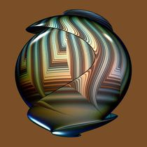 Fractal Pottery von Pat Goltz