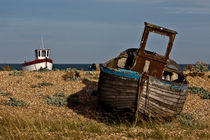 An Old Wrecked Fishing Boat by Dawn OConnor