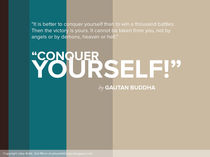 Conquer Yourself  by Jaky Astik