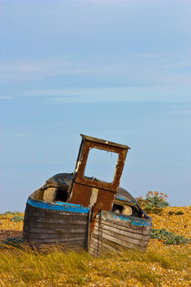An Old Wrecked Fishing Boat von Dawn OConnor