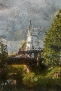 Rye Windmill Painting von Dawn OConnor