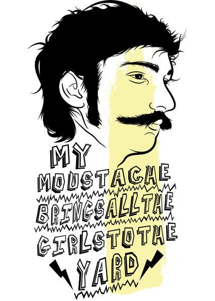 Art-flakes-mustache
