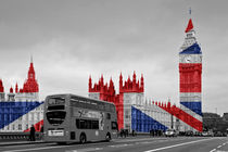 Big Ben Union Jack von Alice Gosling