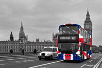 Union Jack London Bus von Alice Gosling