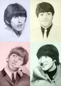 The Beatles in 4 Moods von frank-go