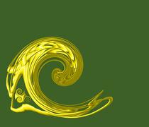 Goldhahn by netteart