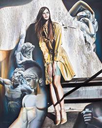 Das Rätsel der Schatten, 100 x 80 cm, 2010, Öl auf Leinwand by Victor Hagea