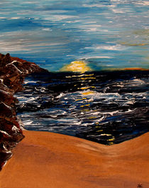 Lake Sunset by Angela Pari Dominic Chumroo
