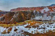 Winter Canyon by Olga Kulakova