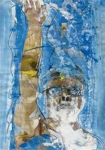 Rückenschwimmer von Edgar Piel