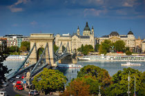 The famous Chain bridge in Budapest von Tanja Krstevska