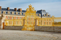 Golden gate of Versailles Palace, France by Tanja Krstevska