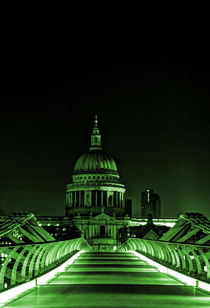St Paul's cathedral in the green von Sara Messenger