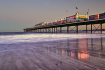 Paignton Pier Sunset by Chris Frost