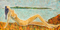 Nude the beach by josie-gilly