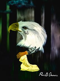 American Eagle Cries by Angela Pari Dominic Chumroo