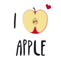 I LOVE Apple by neronera